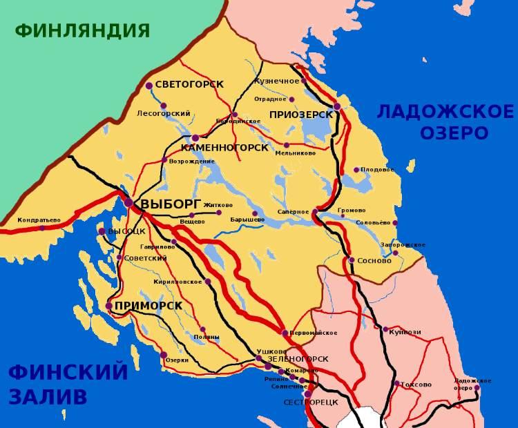 Карта полезных ископаемых ленинградской области