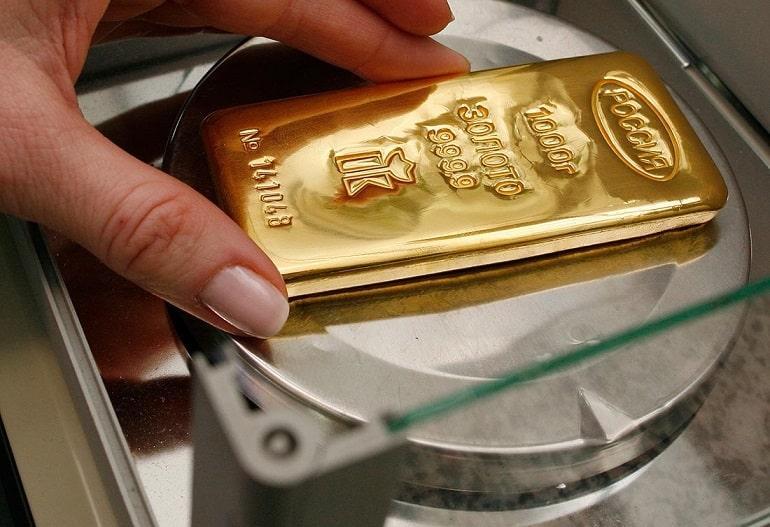 Сколько стоит и весит слиток золота